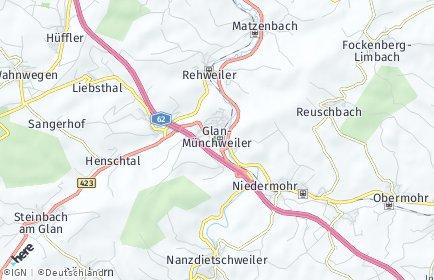 Stadtplan Glan-Münchweiler