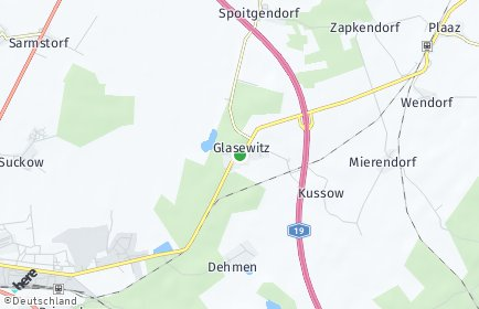 Stadtplan Glasewitz