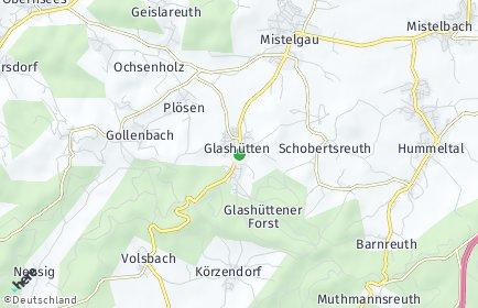 Stadtplan Glashütten (Oberfranken)