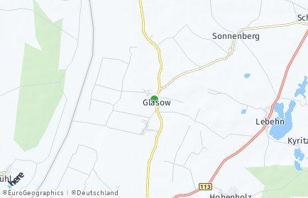 Stadtplan Glasow