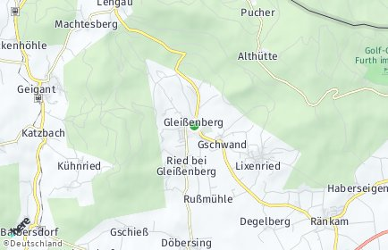 Stadtplan Gleißenberg