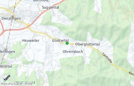 Stadtplan Glottertal