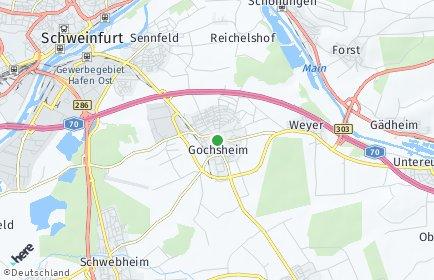 Stadtplan Gochsheim