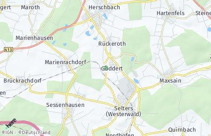 Stadtplan Goddert