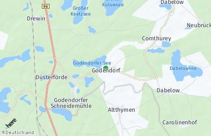 Stadtplan Godendorf
