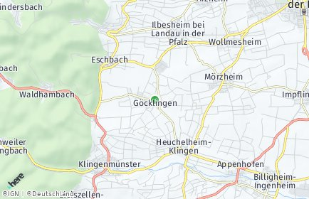 Stadtplan Göcklingen