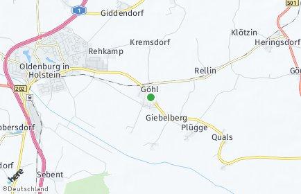 Stadtplan Göhl