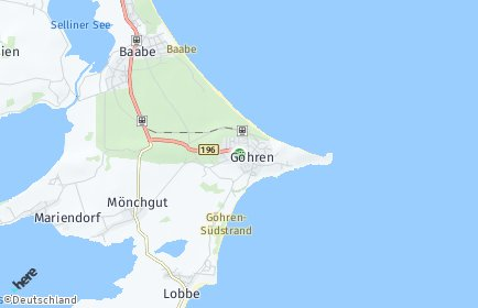 Stadtplan Göhren (Rügen)