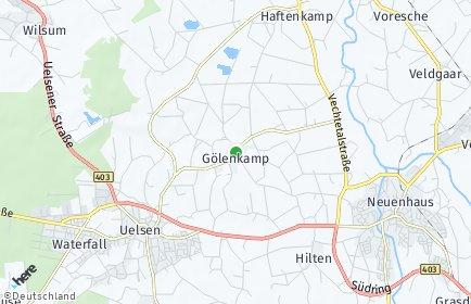 Stadtplan Gölenkamp