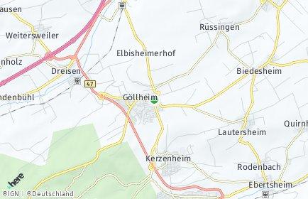 Stadtplan Göllheim
