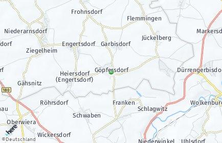 Stadtplan Göpfersdorf