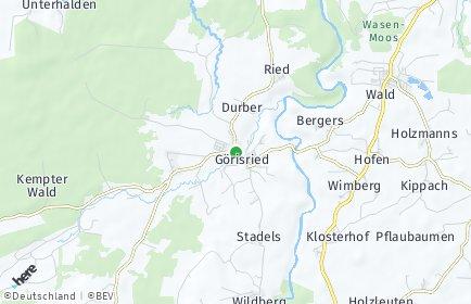 Stadtplan Görisried