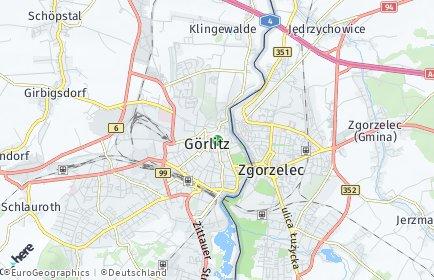 Stadtplan Görlitz OT Nikolaivorstadt