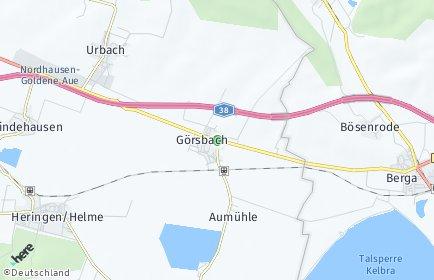 Stadtplan Görsbach