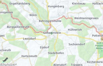 Stadtplan Gößweinstein