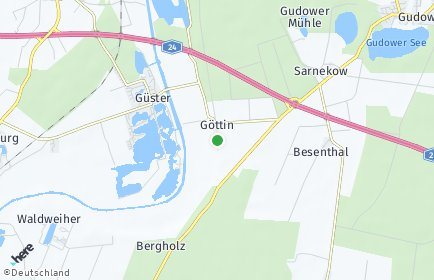 Stadtplan Göttin