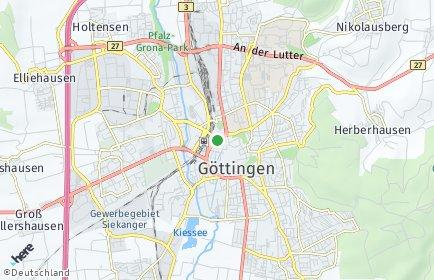 Stadtplan Göttingen