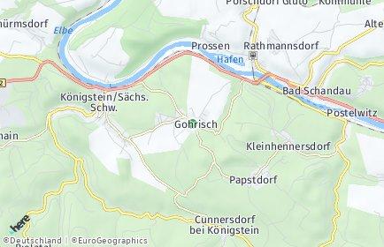 Stadtplan Gohrisch