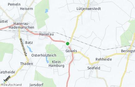 Stadtplan Gokels