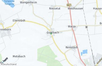 Stadtplan Nessetal
