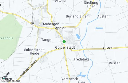 Stadtplan Goldenstedt