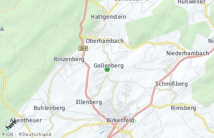 Stadtplan Gollenberg (Kreis Birkenfeld)