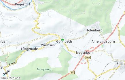 Stadtplan Golmbach