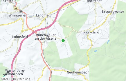 Stadtplan Gonbach