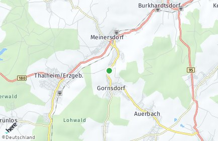 Stadtplan Gornsdorf