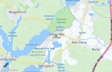 Stadtplan Gosen-Neu Zittau