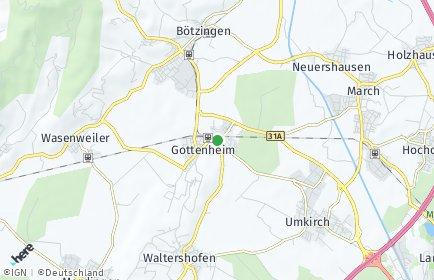 Stadtplan Gottenheim