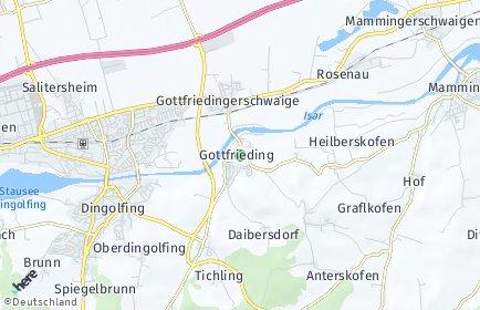 Stadtplan Gottfrieding