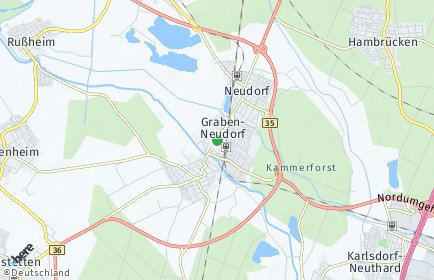 Stadtplan Graben-Neudorf