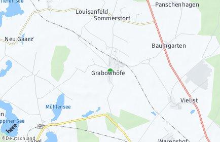 Stadtplan Grabowhöfe