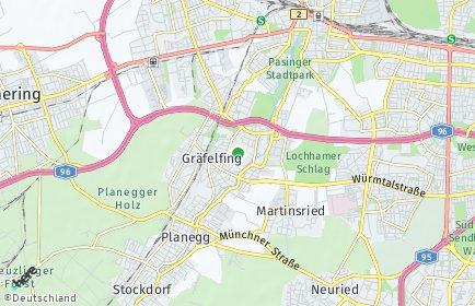 Stadtplan Gräfelfing