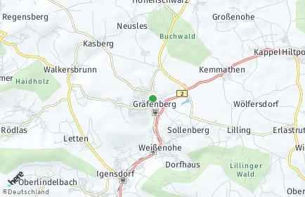 Stadtplan Gräfenberg