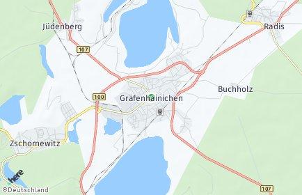 Stadtplan Gräfenhainichen