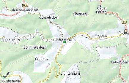 Stadtplan Gräfenthal