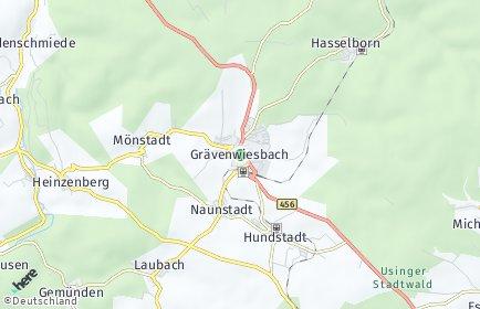 Stadtplan Grävenwiesbach
