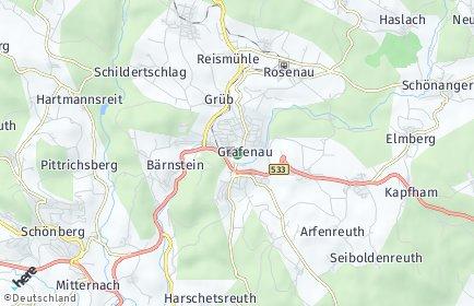 Stadtplan Grafenau (Niederbayern)