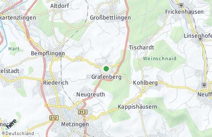 Stadtplan Grafenberg