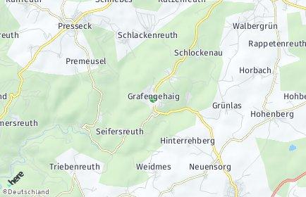 Stadtplan Grafengehaig