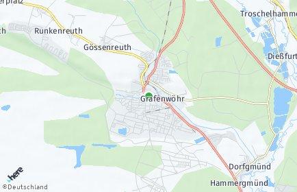 Stadtplan Grafenwöhr