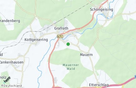 Stadtplan Grafrath