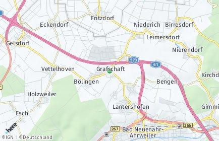 Stadtplan Grafschaft (Rheinland) OT Eckendorf