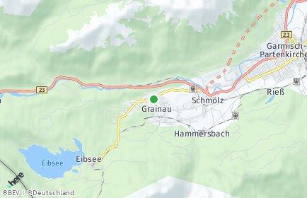 Stadtplan Grainau