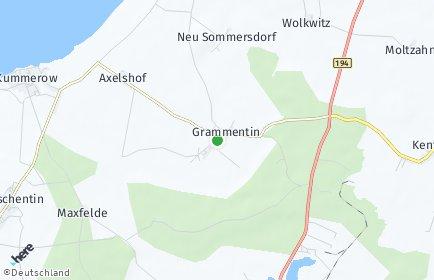 Stadtplan Grammentin