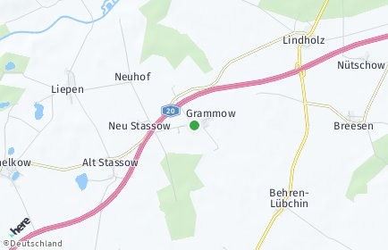 Stadtplan Grammow