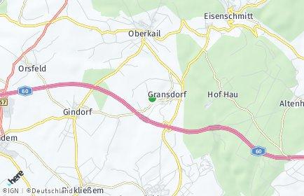 Stadtplan Gransdorf