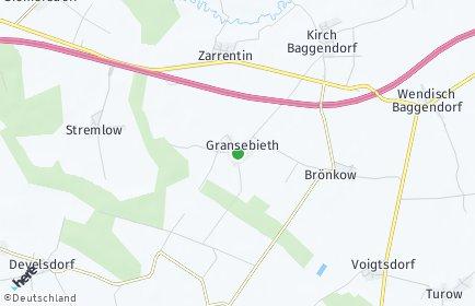 Stadtplan Gransebieth